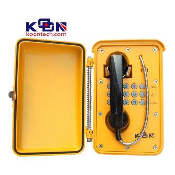 Caixa de chamada de emergência à prova d'água para aparelho de telefone SUS