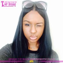 Cute Short lace front Human Hair Bob Wigs For Black Women