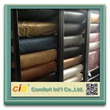2016 PVC skinnsoffa läder semi-pu läder konstgjord läderklädsel