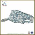 impresión de sublimación barata personalizada Sun Visor Cap