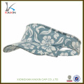 custom Cheap sublimation printing Sun Visor Cap