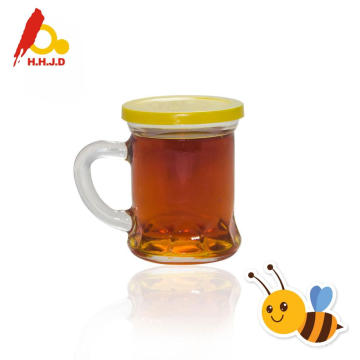 Pure Longan Bee Honey in Glass Jars
