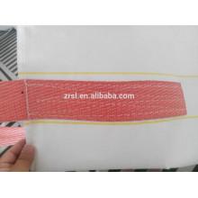 Bolsa jumbo de 4 cinturones de esquina cruzados con capacidad de 800 kg, bolsa jumbo para astillas de madera