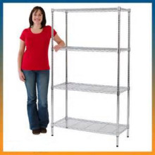 Floor Standing Sample Display Metal Racks Shelf for Showroom