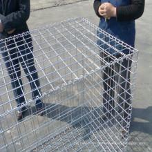50 * 50mm Mesh Größe verzinkt geschweißt Gabion Box