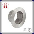 Ss304 Cerradura de acero inoxidable sanitaria del tubo de la abrazadera de la abrazadera
