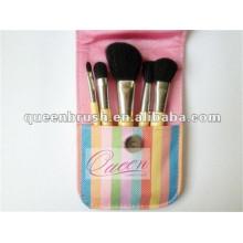 Mini 5PCS portátil Travel Makeup Brush Set
