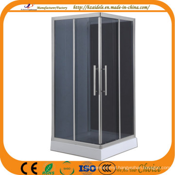 Grey Glass Square Tray Bathroom Shower (ADL-8604)