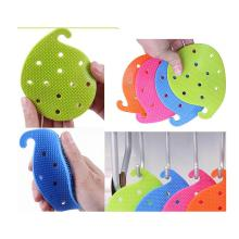 Custom Silicone Leaf Scrubber for Vegetables