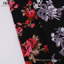 Tissu d'impression de viscose de rayonne de Challis pour la robe des femmes