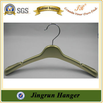 Metal Hook Plastic Gold Hanger Wedding Dress Hanger