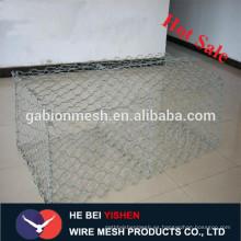 De buena calidad Electro galvanizado malla hexagonal gabion