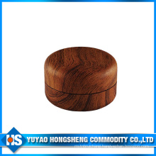 Wood Color Plastic Jar for Cream