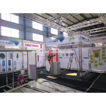portable truss exhibition booth for trade show, free design trade show truss display