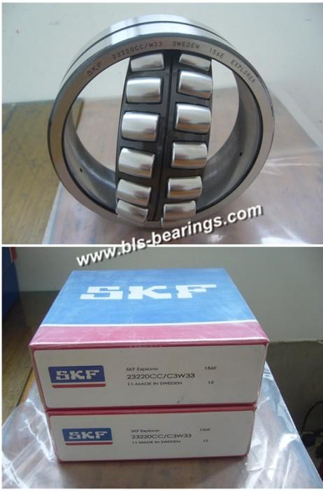 22220K Spherical roller bearing FLT 100mm x 180mm x 46mm Large Spherical Bearing