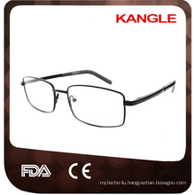 Cheapest Economic basic line Man Stainless steel optical frames / metal eyeglasses