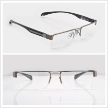 Quadros de óculos metálicos Óculos de meia moldura P9854 Quadros de óculos para homens (P9854)
