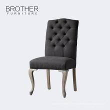 Meubles de salle à manger Chaise de salle à manger en tissu optionnelle de haute qualité