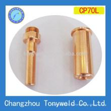 Cebora P70 Luft-Plasma lange Schneiddüse und lange Elektrode