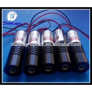 Módulo de laser azul-violeta de linha 405nm 1mw a 200mw