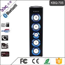 BBQ KBQ-705 45W 5000mAh 2016 Hot Selling Wireless Tower Home Theater Speaker