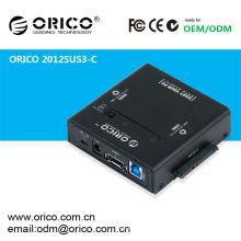 Duplicador de HDD multifuncional, ORICO 2012SUS3-C, Adaptador SATA portátil