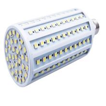Lâmpada da luz do bulbo do milho do diodo emissor de luz de Dimmable E27 B22 165PCS 5050 SMD