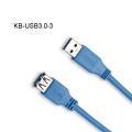 USB 3.0 tipo A macho a tipo A hembra