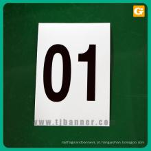Impressão personalizada personalizado folhas de adesivo refletivo