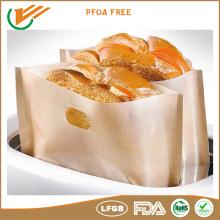 Sandwich oven baking teflon/ptfe Sandwich pastry fabric bag