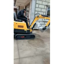 Mini excavator pile driver parts machine with CE