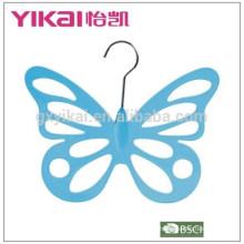 2015 butterflyshape PS bufanda de plástico colgador de ropa
