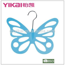 2015 butterflyshape PS plastic scarf clothes hanger