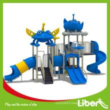 Type de parc d'attractions Pastic Playground Équipement d'escalade pour enfants