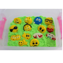 Emotion Recognizing Magic Sand Kids Toy with Small Emoji Parts (MQ-DES01)