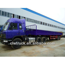Dongfeng 6*4 tractor truck and trailer,12m trailer