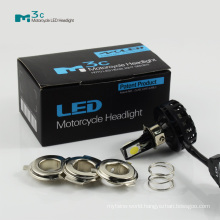 Motorcycle parts High Brightness cob head light 12v 24v motorcycle headlight led