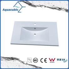 Polymarble White Single Lever Bathroom Wash Basin Acb0805