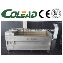 SUS 304Hot venta cebolla cepillo / cepillo tipo de limpieza de frutas y pelar la máquina, máquina de pelar lavado de patata / máquina de pelar cebolla
