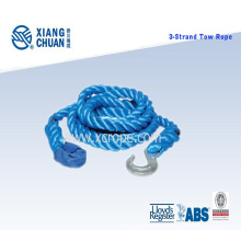3 Strand Polyester Tow Rope