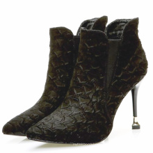 Sexy Women's Stiletto Snake Ankle Boots chelsea boot for lady red sole shoes