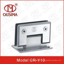 Double côté avec charnière de douche de 90 degrés en verre (CR-Y10)
