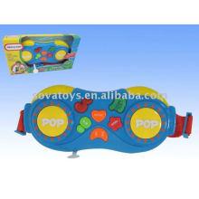 Crianças brinquedo eletrônico tambor