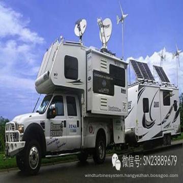 Small Wind&Solar Hybrid System for Car Use