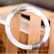Einzigartiger Opalstein 925 Sterling Silber Schmuck Armband