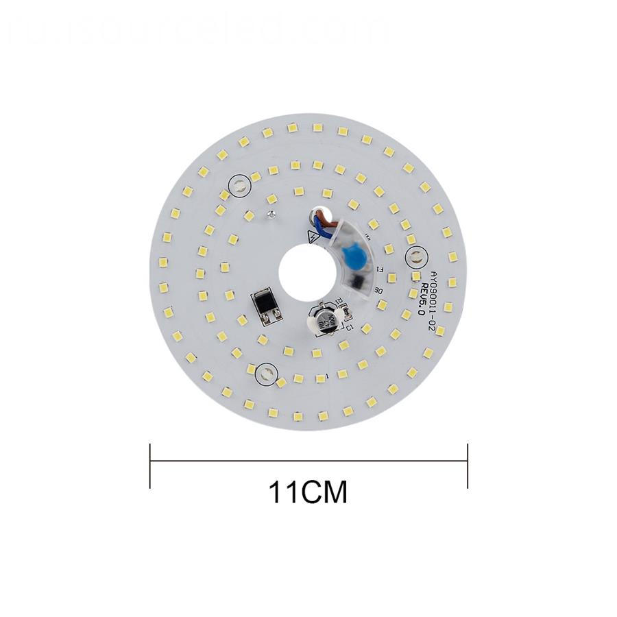 1.2 mm Board Thickness Round Led Ceiling Light Panel Board for led ceiling lights