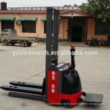Empilhadeira elétrica Walkie Full 1000KG Capacidade / empilhadeira empilhadeira hidráulica semi-elétrica
