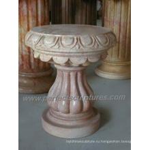 Архитектурная каменная основа и мраморный пьедестал (BA039)