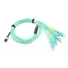 Cable de conexión de fibra óptica MPO a LC