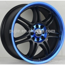 17*7.5 Car alloy wheel 5*114.3 for Japanese cars